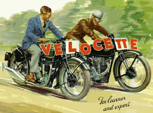 Velocette for learner and for expert